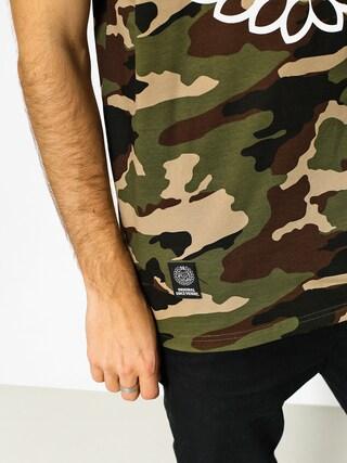 T-shirt MassDnm Base (woodland camo)
