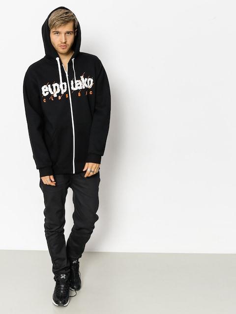 Bluza z kapturem El Polako Cut Classic ZHD (black)