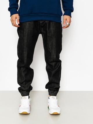 Spodnie MassDnm Signature Joggers Jeans (black rinse)