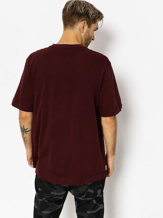 T-shirt Carhartt Krainz Overalls Pocket (amarone/wax)
