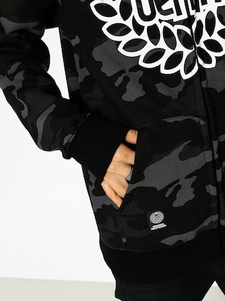 Bluza z kapturem MassDnm Base ZHD (black camo)