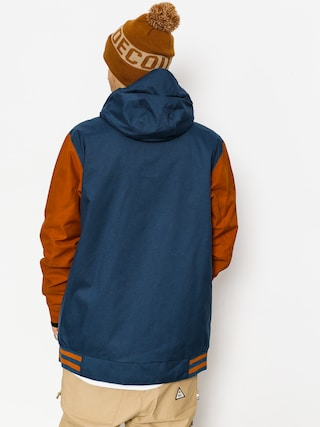 Kurtka snowboardowa DC DcLa Se (waxed leather brown)