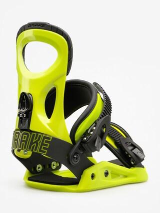 Wiązania snowboardowe Drake King (lime)