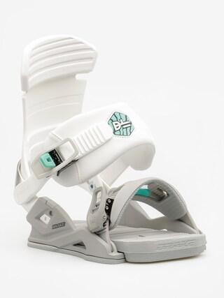 Wiązania snowboardowe Drake DL Wmn (white)