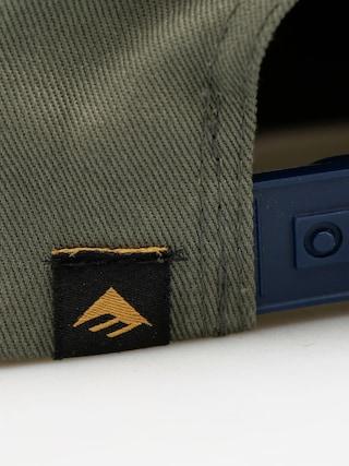 Czapka z daszkiem Emerica Triangle Snapback ZD (army)
