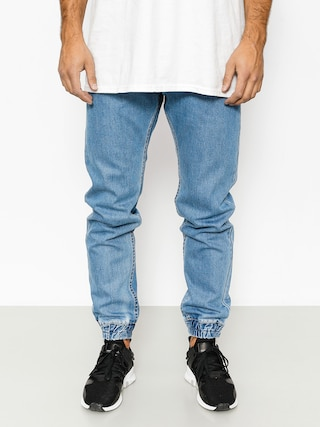 Spodnie MassDnm Base Joggers Jeans (light blue)