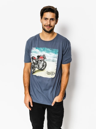 T-shirt Smith's Bike (steel blue)