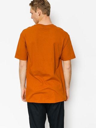 T-shirt LRG Stacked (texas orange)