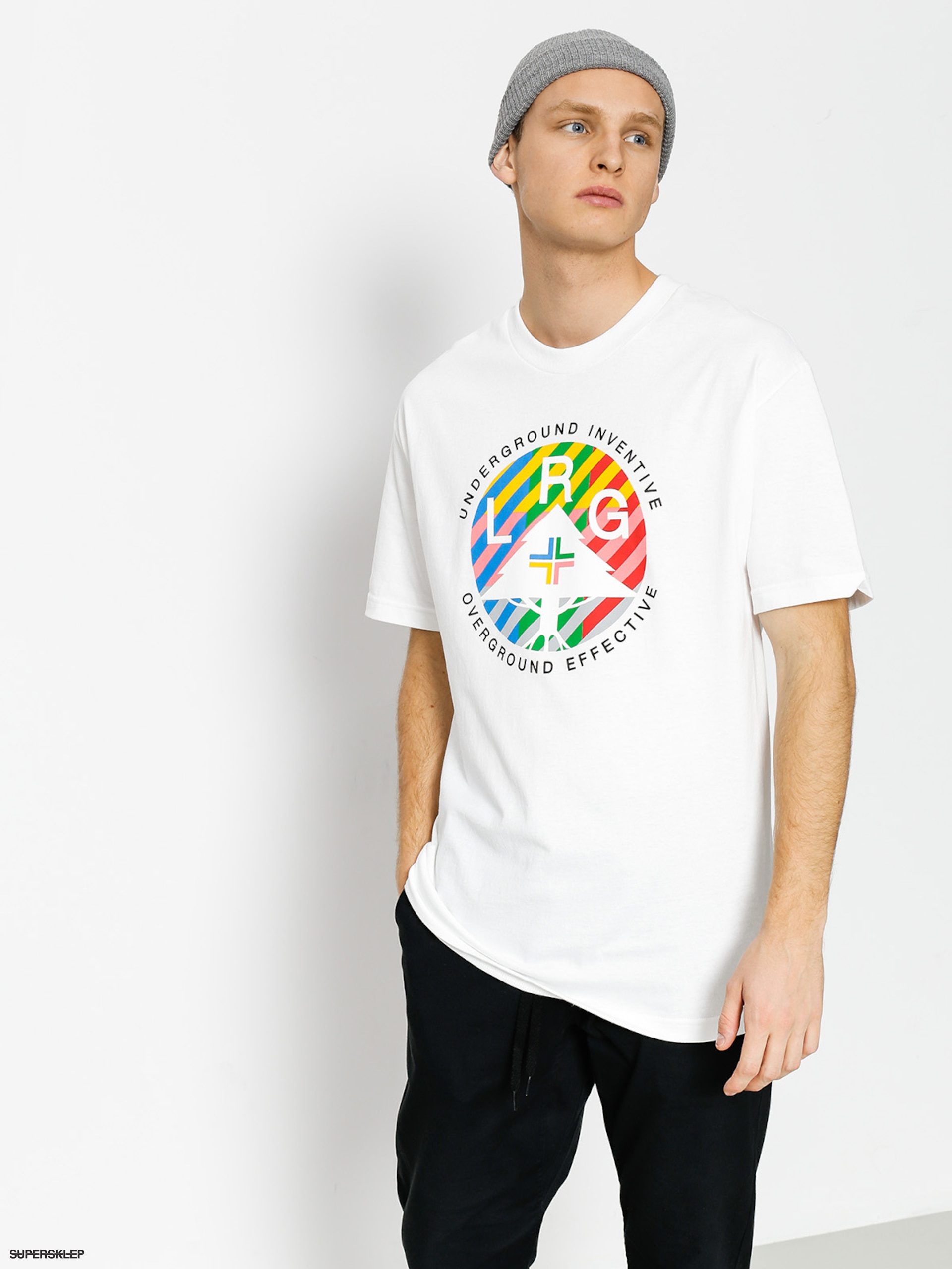 T-shirt LRG Colors United (white)