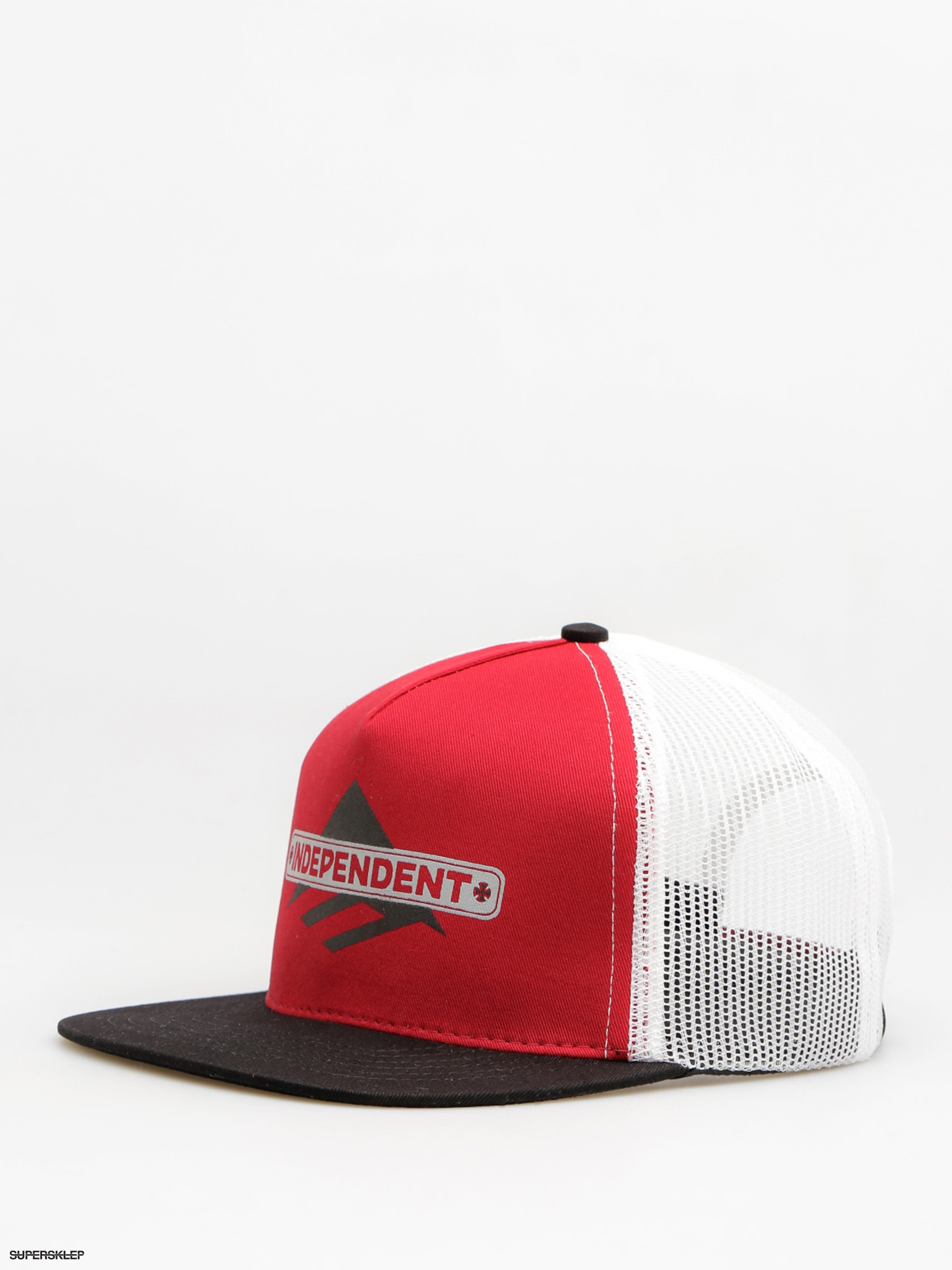 Czapka z daszkiem Emerica Indy Trucker ZD (red/black)