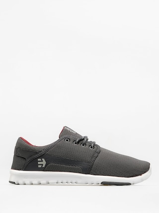 Buty Etnies Scout (dark grey/white/red)