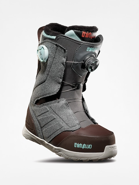 Buty snowboardowe ThirtyTwo Lashed Double Boa Wmn (grey/brown)