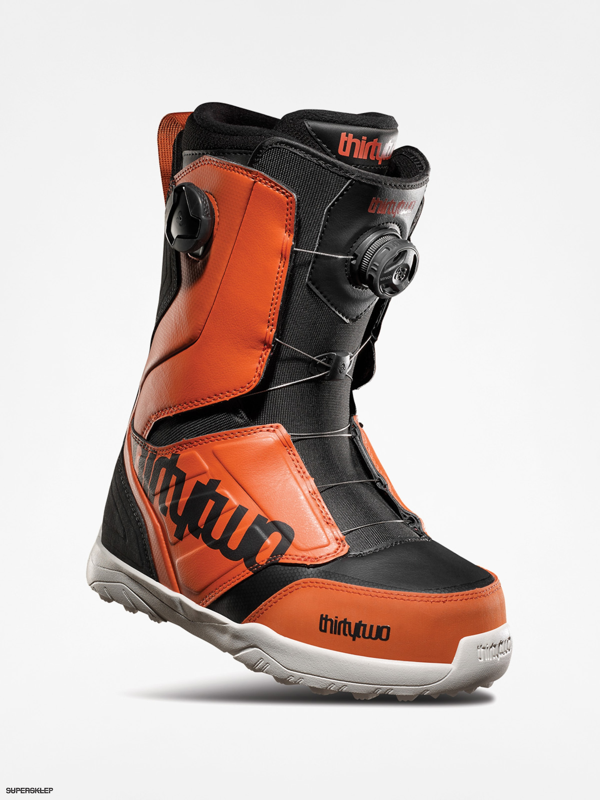 Buty snowboardowe ThirtyTwo Lashed Double Boa (black/orange)