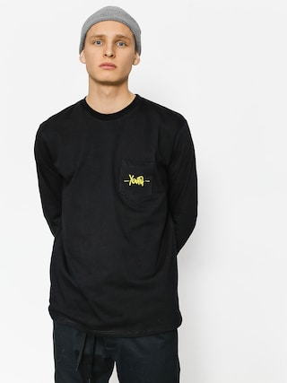 Longsleeve Youth Skateboards Pocket Youth Logo (black)