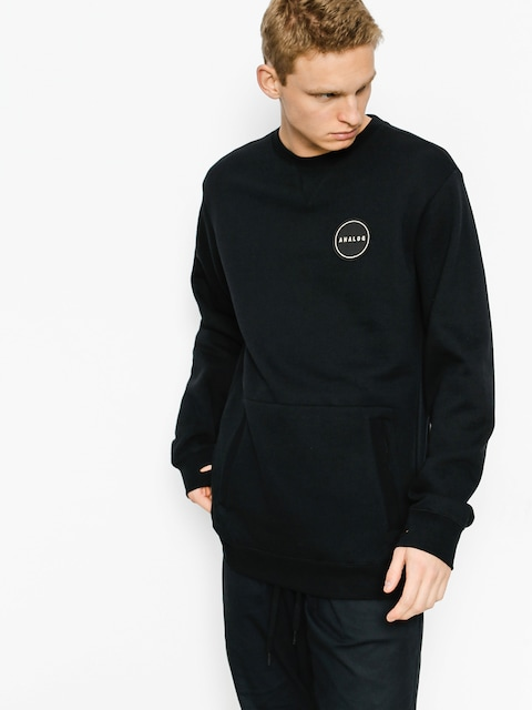 Bluza Analog Enclave Crew (true black)