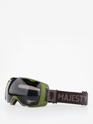 Gogle Majesty Spectrum (army green/black pearl/clear citrine)