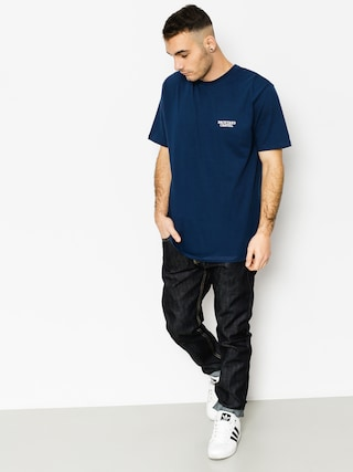 T-shirt Backyard Cartel Back Label (navy)