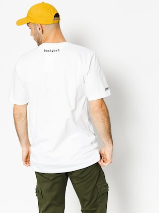T-shirt Backyard Cartel Old Wood (white)
