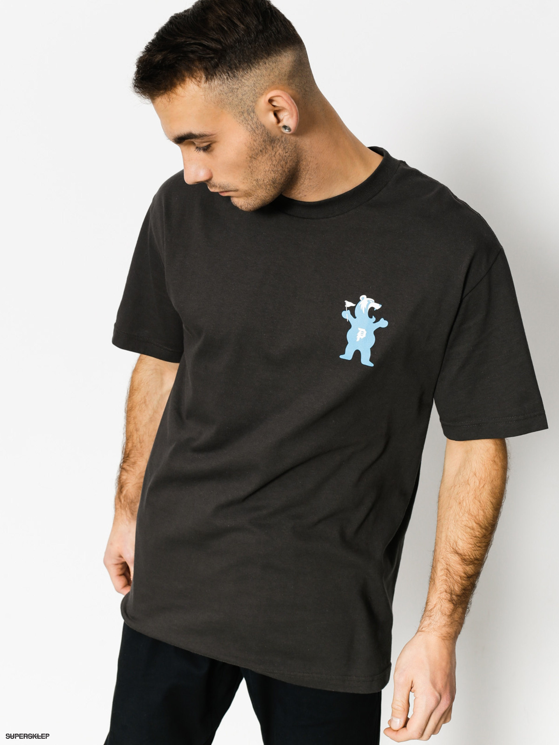 T-shirt Primitive x Grizzly Griptape Mascot