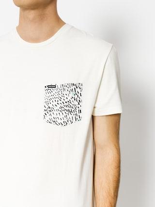 T-shirt Volcom Contra Pocket (wht)