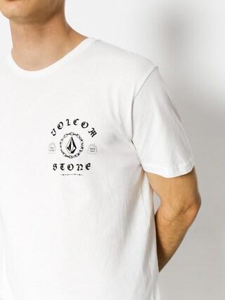 T-shirt Volcom Chain Gang Bsc (wht)