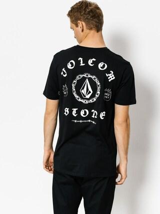 T-shirt Volcom Chain Gang Bsc (blk)