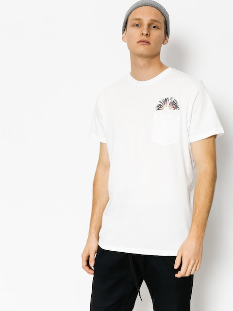 T-shirt Volcom Doom Bloom Pckt (wht)