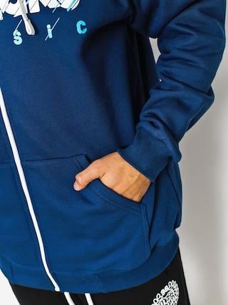 Bluza z kapturem El Polako Cut Classic ZHD (navy)