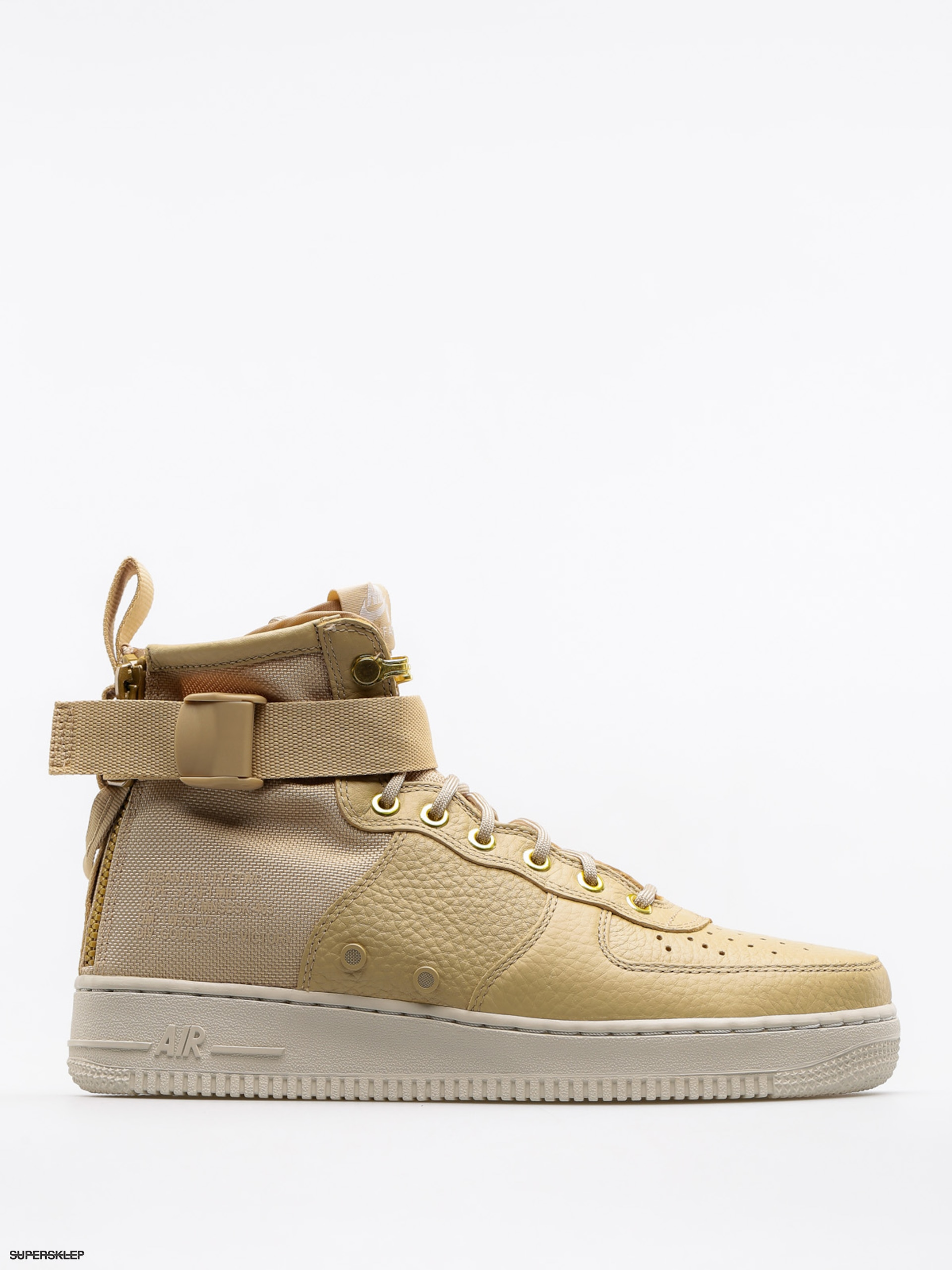 Buty Nike Sf Air Force 1 Mid (mushroom/mushroom light bone)