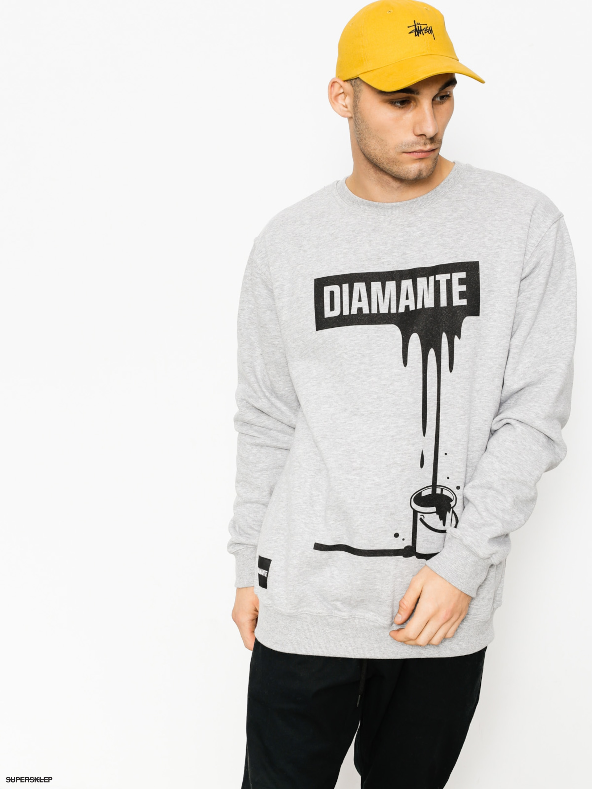 Bluza Diamante Wear Paint (grey)