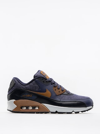 Buty Nike Air Max 90 Premium (thunder blue/ale brown dark obsidian)