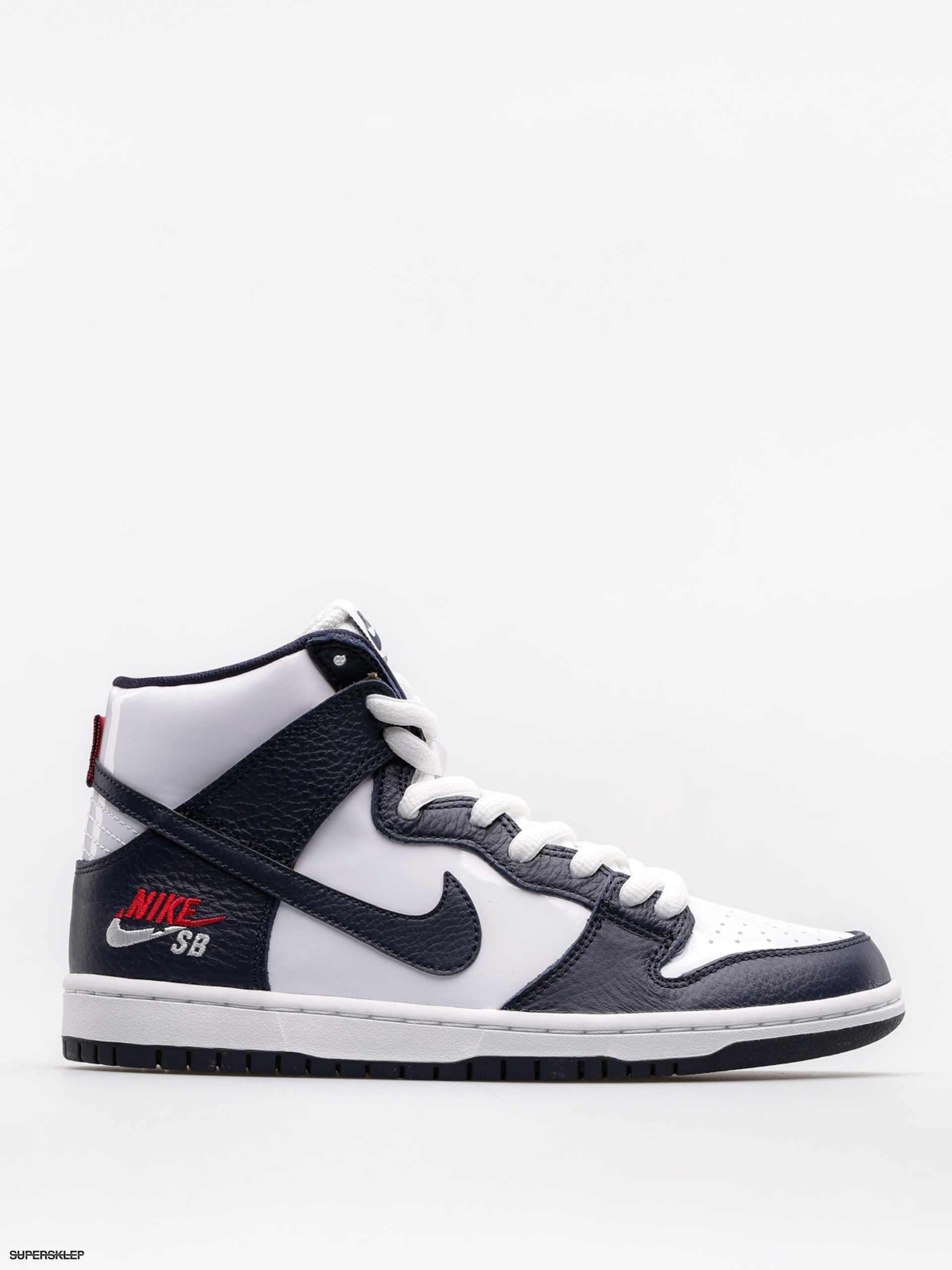 Buty Nike SB Sb Zoom Dunk High Pro (obsidian/obsidian white university red)