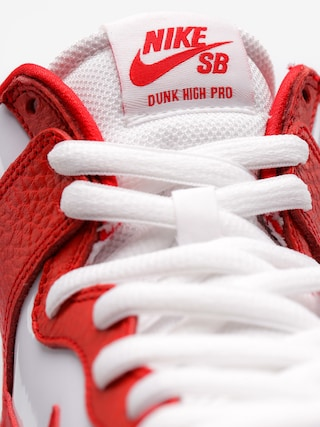 Buty Nike SB Sb Zoom Dunk High Pro (university red/university red white)