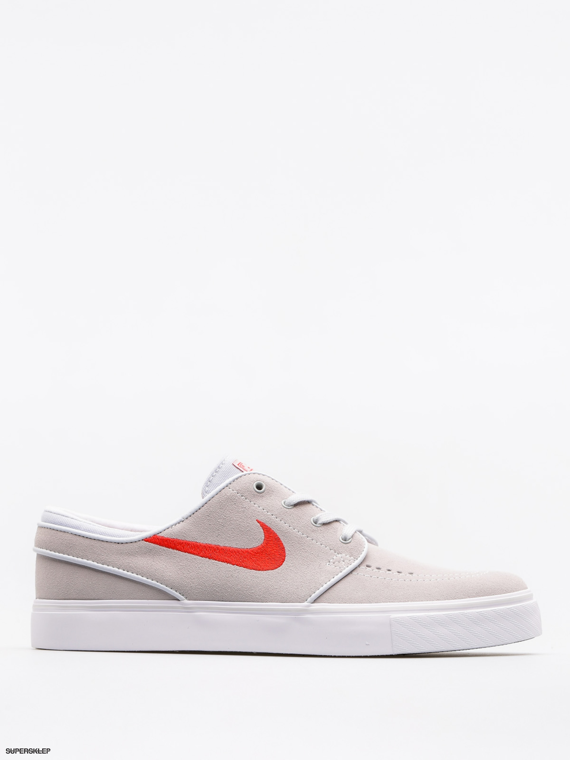 Buty Nike SB Zoom Stefan Janoski (pure platinum/university red black white)