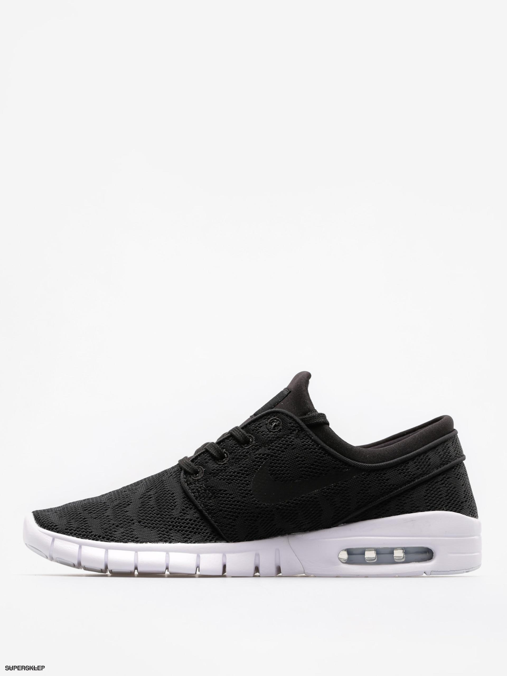 Nike SB Stefan Janoski Max shoes blackwhite