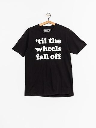 T-shirt Circa Wheels (black)