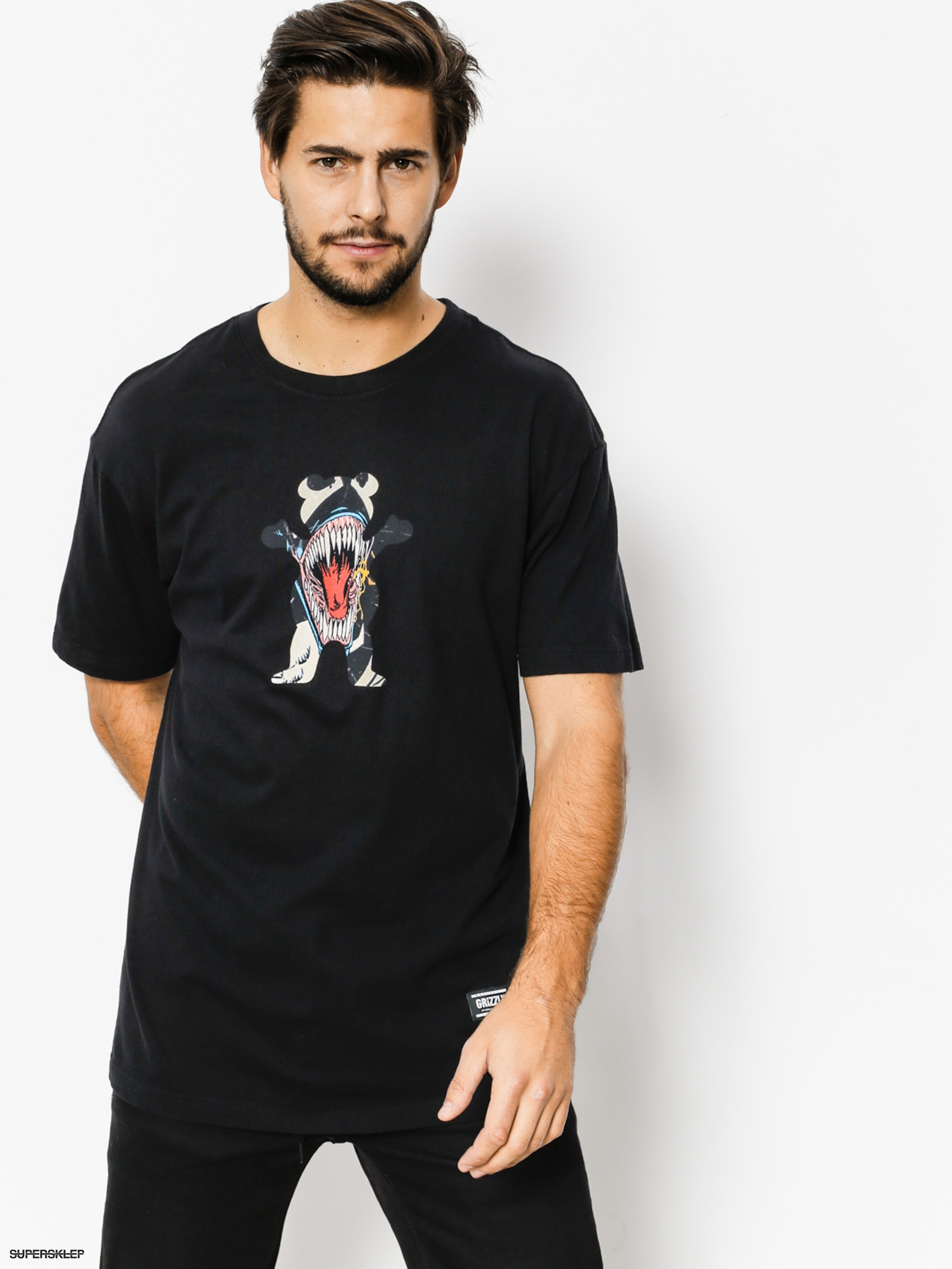 T-shirt Grizzly Griptape Grizzly X Venom Og Bear