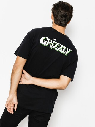 T-shirt Grizzly Griptape Grizzly X Venom Og Bear (black)