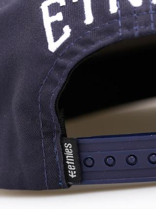 Czapka z daszkiem Etnies E Staple ZD (grey/blue)