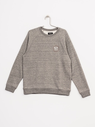Bluza Brixton Wheeler (heather grey/brick)