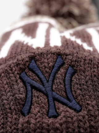 Czapka zimowa 47 Brand New York Yankees Pom (gray)