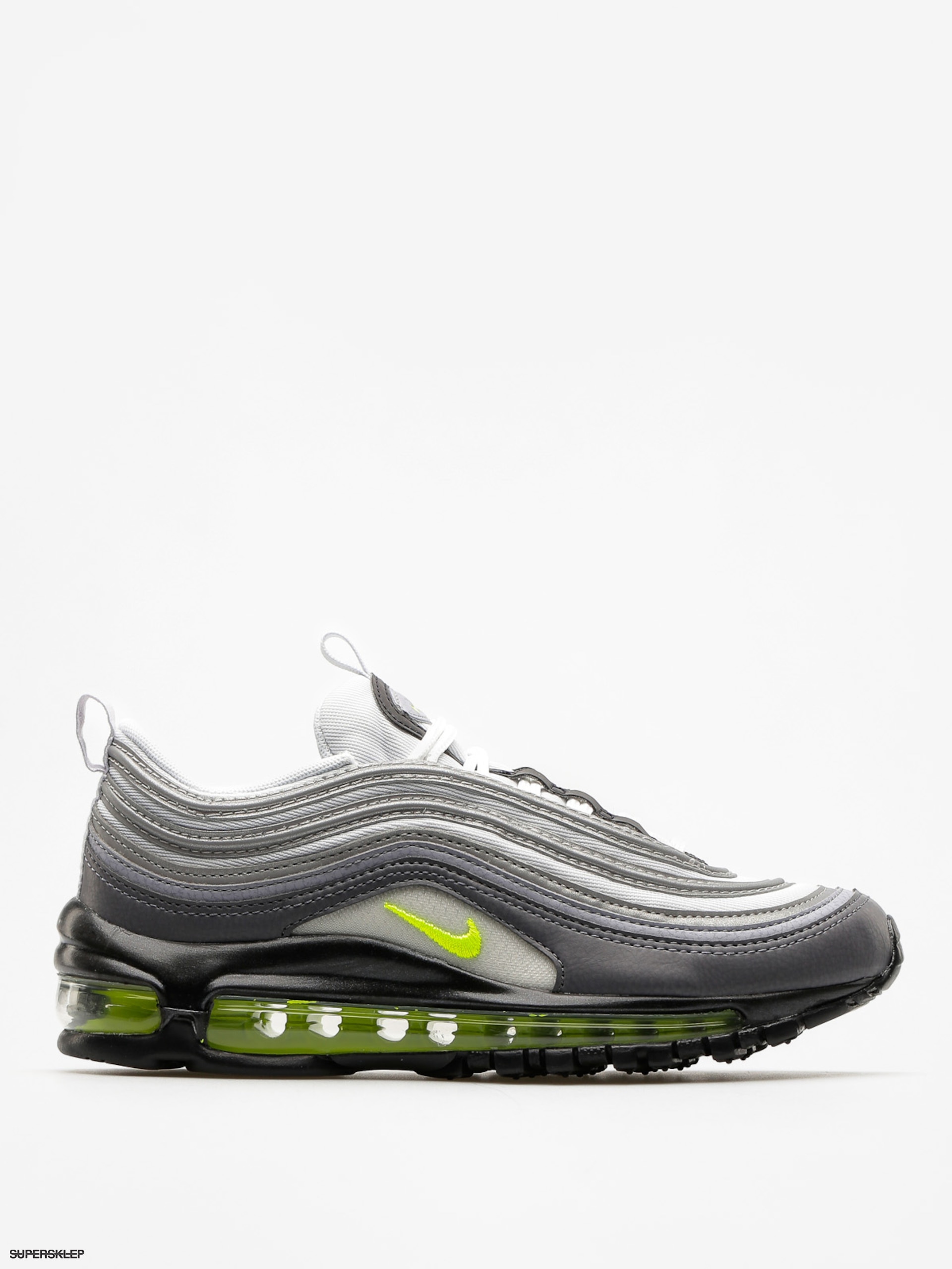 Buty Nike Air Max 97 Wmn (dark grey/volt stealth pure platinum)