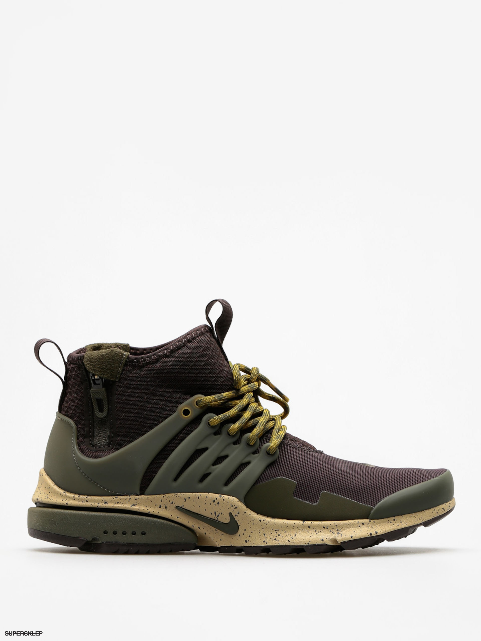 Buty Nike Air Presto Utility Mid Top (velvet brown/cargo khaki mushroom)