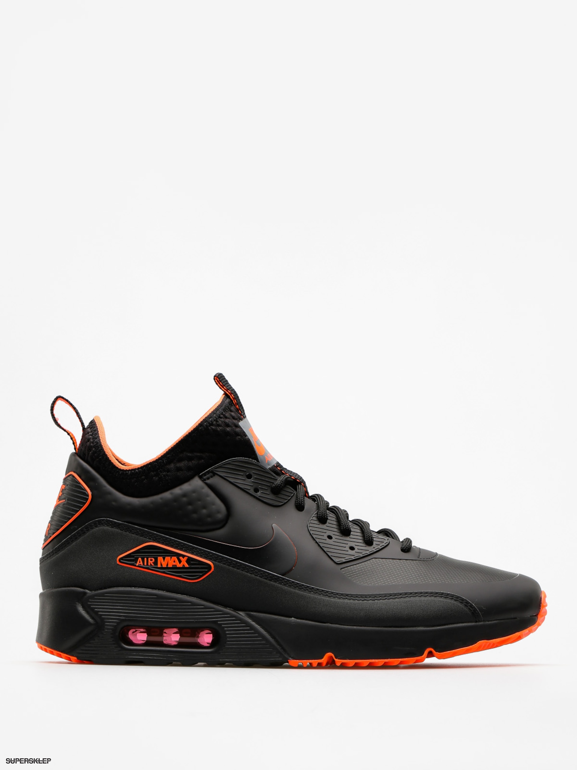 Buty Nike Air Max 90 Ultra Mid Winter Se (black/black total crimson cool grey)