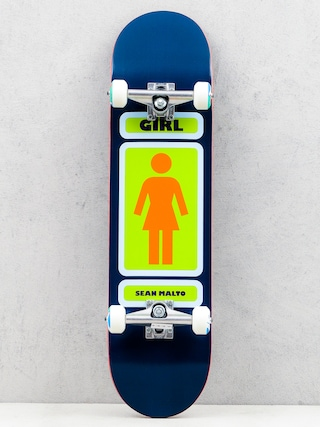 Deskorolka Girl Skateboard Malto 93 (navy/green)