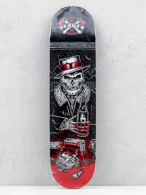 Deck Etnies Flip Skateboard Deck (black/red)