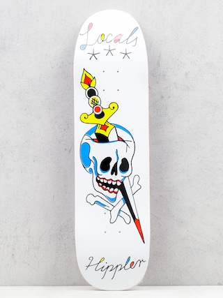 Deck Locals Skateboards Hippler Pool Sheape (white)
