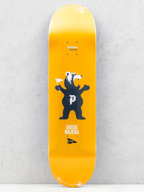 Deck Primitive x Grizzly Najera Mascot