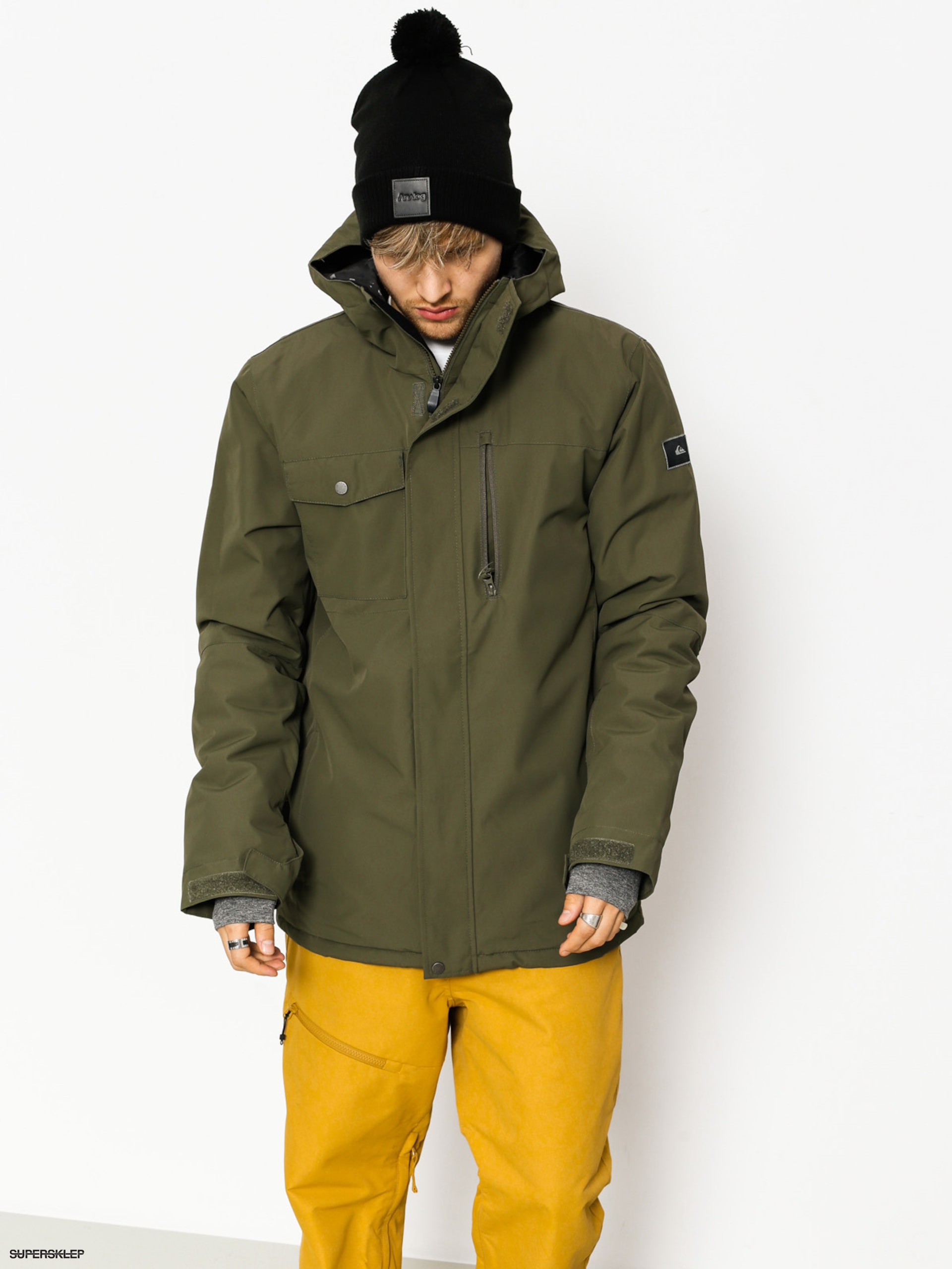 Kurtka snowboardowa Quiksilver Mission Sol (grape leaf)