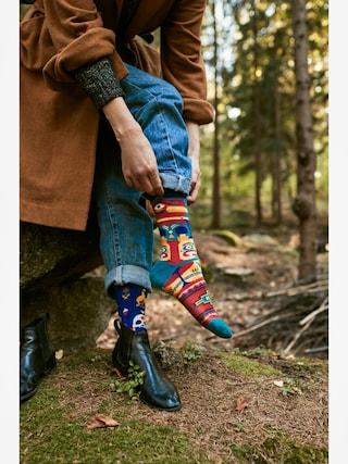 Skarpetki Many Mornings Apache Tribe (blue/multicolor)